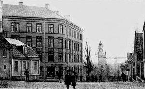 Bysantinska huset på Södra Smedjegatan 4 år 1906